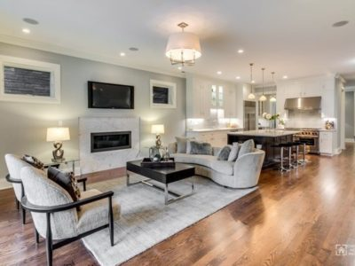 457 West Melrose Unit 2, Chicago, IL 60657: Living & Dining Room