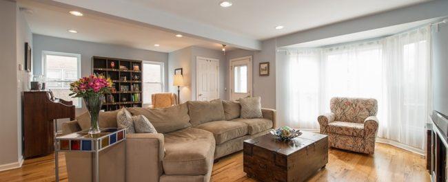 Jefferson Park - 5872 W. Gunnison, Chicago IL 60630 - Living Room