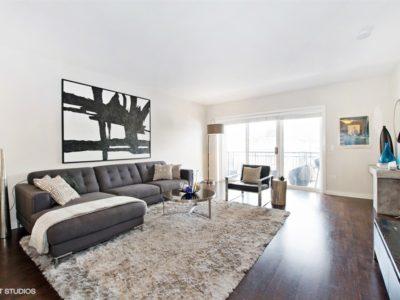 Edgewater - 5858 North Broadway Avenue Unit 404, Chicago, IL 60660 - Living Room