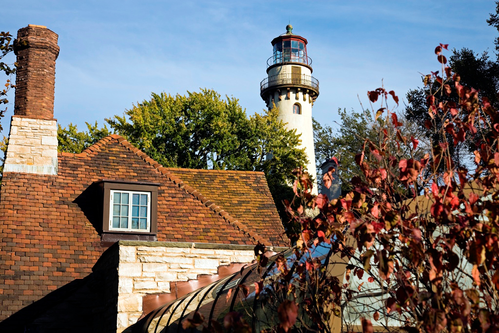 Evanstron, Illinois - Grosse Point Lighthouse